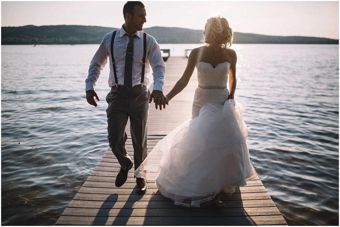 chase + hilary // lake front northern michigan weddingphotography