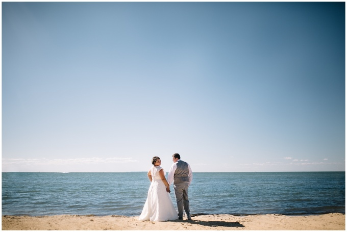 danielle + christopher // a wedding on the shore of lake huron