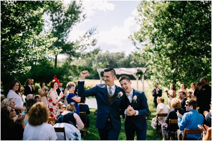 andrew + bobby // an ann arbor wedding at misty farms
