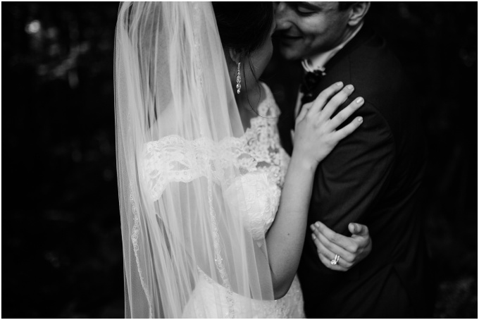 lauren + sal // romantic wedding at meadow brook hall + gardens