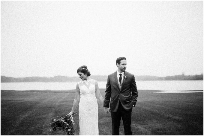 ashley + steve // and the rainiest + most beautiful october waldenwoods wedding