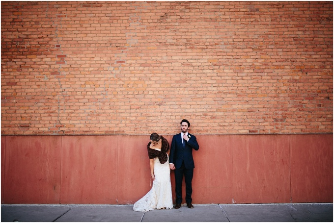 katie + eric // married at detroit's gem theater
